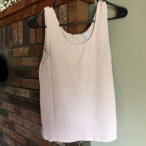 Chico's light pink soft nylon/spandex tank top